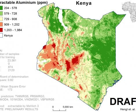 Kenya - extractable Aluminum