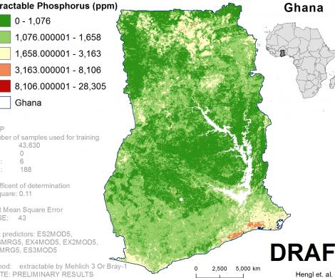 Ghana - extractable Phosphorus
