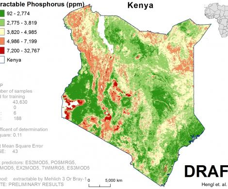 Kenya - extractable Phosphorus